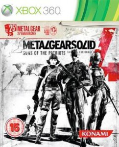 Metal Gear Solid 4: 25th Anniversary Edition для Xbox 360