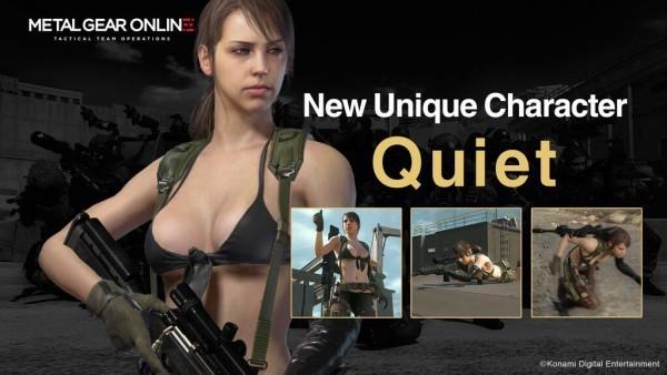 Quiet в Metal Gear Online