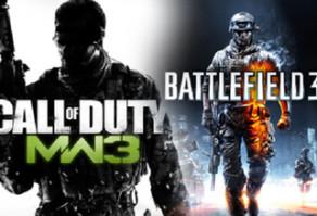 Battlefield 3 и Modern Warfare 3