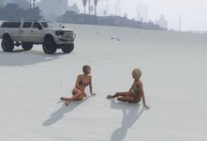 снег в GTA 5