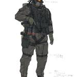 артворк MGS 5: Ground Zeroes