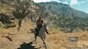 Big Boss на лошади
