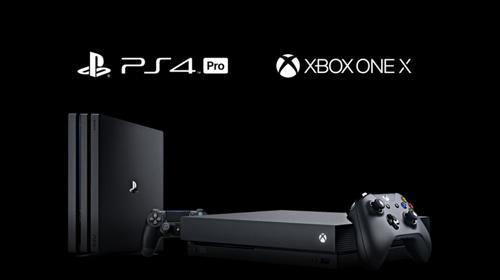 PS4 Pro и Xbox One X