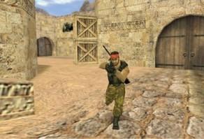 Игра на карте de_dust2
