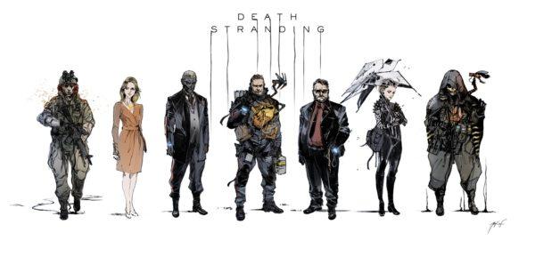 персонажи Death Stranding