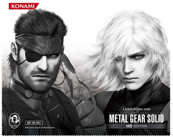 салфетка из микрофибры в MGS HD Collection