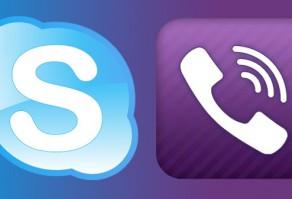 Skype и Viber