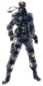 молодой Solid Snake