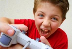 ребенок за игрой