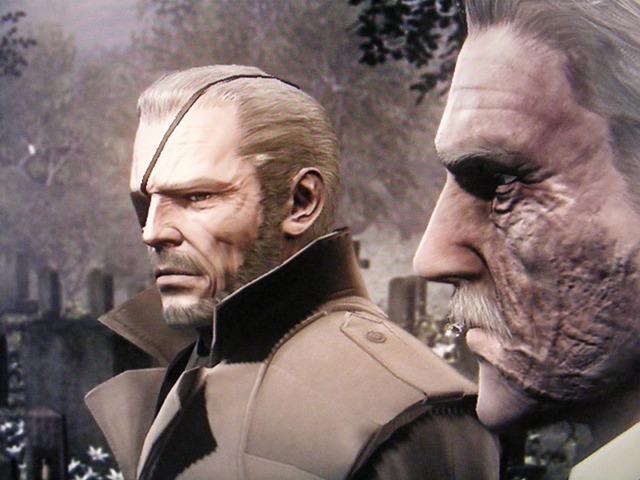 Big Boss и Solid Snake