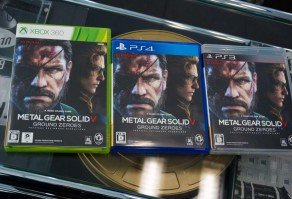 коробки MGS5: Ground Zeroes