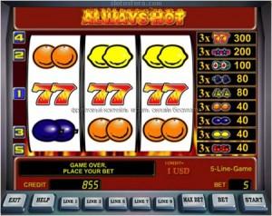 трехбарабанный игровой автомат