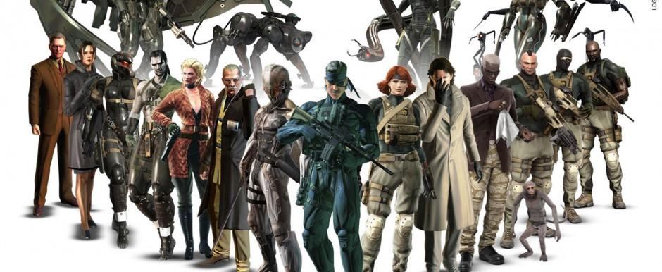 Артворк Metal Gear Solid 4