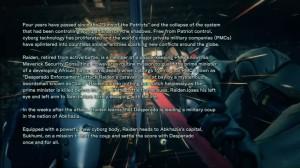 сюжет Metal Gear Rising: Revengeance