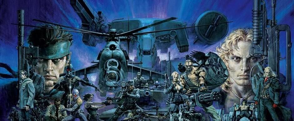 артворк Metal Gear Solid