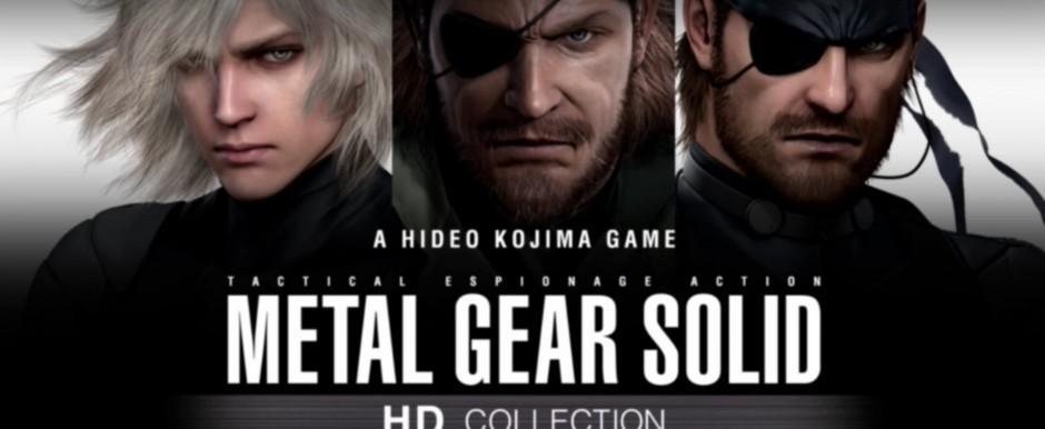 Артворк Metal Gear Solid HD Collection