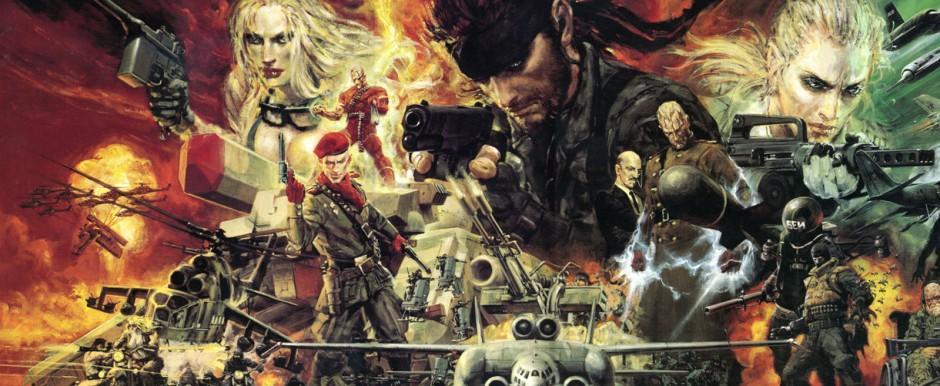Metal Gear Solid 3 Artwork