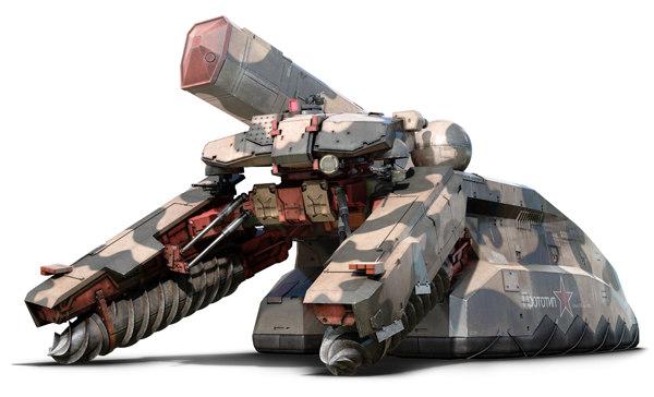 Шагоход из MGS3