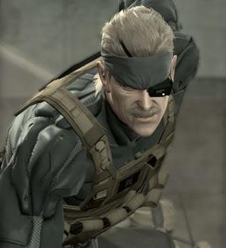 Old Snake в Metal Gear Solid 4