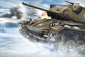 зима в World of Tanks