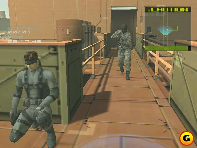 Солид Снейк в Metal Gear Solid 2