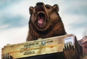медведь-артиллерист